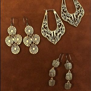 Bundle of Lucky Brand earrings